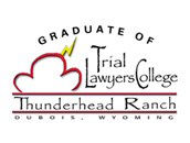 Graduate of Trial Layers College badge